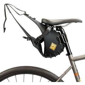 Restrap Big Saddlebag Torba rowerowa with Dry Bag 14L czarny